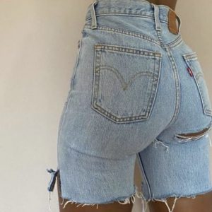 Short en jean sexy