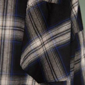 Chemise à carreaux tricolore