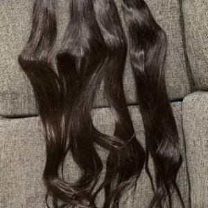 Cheveux raides péruviens 100%