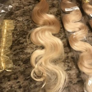 Cheveux Body wave Blond